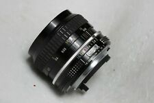 Lens Nikon Nikkor 50mm 1:2  serial number 3623790 SUPERB