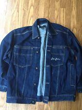 Vintage Sean John Jean Jacket Denim Blue 100% Cotton Used Size Large L 90s Rare