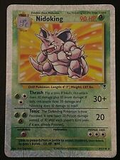 Mint Legendary Collection Reverse Nidoking Pokemon Card Holo Shiny Rare