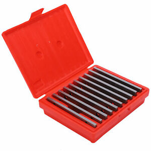 10 Pair Thin 1/8 inch Steel Parallel Set PRECISION 0.0005'' Milling Machinist