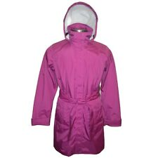 Patagonia Womens Torrentshell Trench Coat Size XL in Rubellite Pink