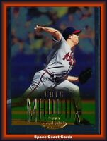 2002 BRAVES Topps Gold Label Class 1 Gold #36 Greg Maddux /500