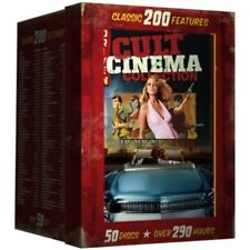 Horror Scary DVD Box Set Cult Classics Cinema Collection 200 Movies Features NEW
