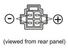 JETSTREAM JTPC2 4PIN POWER CABLE FOR ICOM IC7000 KENWOOD TS480 YAESU FT-991 1200