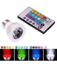 2Pack E27 3W Magic Lighting LED Spot Light Bulb w/ IR Remote 16 Color Changing