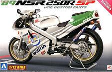 1/12 AOSHIMA 000545 HONDA NSR 250R 89' Plastic Model Motor Cycle Kit