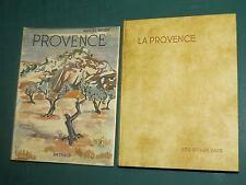 """Provence M. BRION ARTHAUD """"Les beaux Pays"""" couv. BRAYER Rel. PARCHEMINEX"""