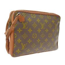 LOUIS VUITTON VINTAGE CLUTCH HAND BAG PURSE MONOGRAM AUTH M15169