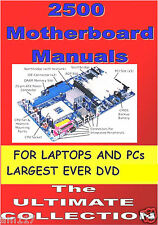PC & Laptop Manuals for 2500 Motherbloards Windows & Linux PC Engineers Toolkit