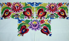Vtg Hungarian MATYO Hand Embroidered Pillow Case