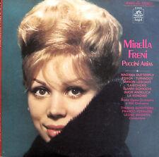 Mirella Freni Puccini Arias EXCELLENT Angel S-36449 + insert