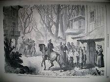 EVENEMENTS DE POLOGNE ASSESSEUR INSPECTION DES ECOLES POPE SERMENT GRAVURES 1863