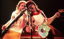 Van Halen-Michael Anthony & Eddie Rock Photo Artwork