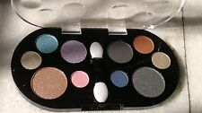 2 X L.a. Colors - 10 Warm Colour Eyeshadow Palette New/ Only