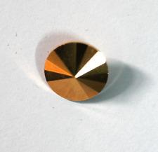 Rivoli Stein crystal aurum gold  foiled (gold) von Preciosa  14mm 1x
