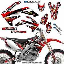 2008 2009 CRF 250R GRAPHICS KIT CRF250R 250 R DECO STICKER DECALS 4-STROKE SENGE
