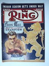 November 1948 The Ring Magazine Freddie Mills Champion BOXING -  FLASH SALE