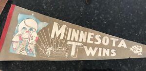 MLB Minnesota Twins Baseball Vintage 12x30 Pennant
