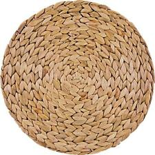 More details for creative tops water hyacinth pack of 4 round placemats/coasters