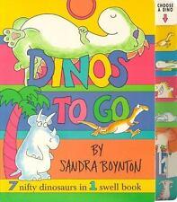 Dinos To Go: Dinos To Go: By Boynton, Sandra