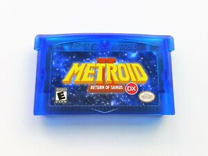 Metroid II 2 DX Return of Samus (Full Color) Super GBA Gameboy Advance (USA)