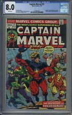 Captain Marvel # 31 CGC 8.0