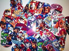 Paw Combo-8 Paper Dog Tags -Favors  Pack Patrol Prizes Birthday Rewards Party