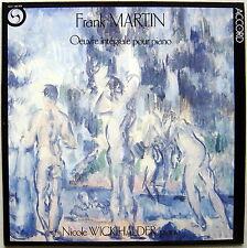 LP Nicole WICKIHALDER / Frank Martin Oeuvre pour piano / Accord NM