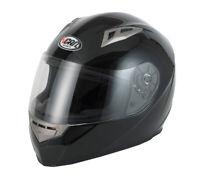 Vcan V158 ACU APPROVE FULL FACE MOTORCYCLE HELMET ROAD LEGAL GLOSS BLACK
