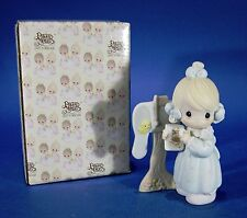 Precious Moments Sharing the Good News Together Enesco Figure 1990 Vintage
