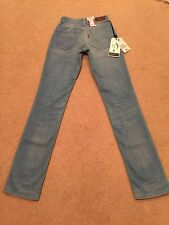 Chaussures femme LEVIS BOLD CURVE STRAIGHT JEANS STRETCH W24 L32 Bnwt (A)