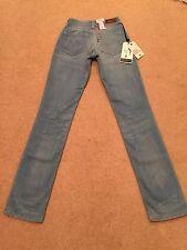 Womens Levis Bold Curve Straight Stretch Jeans W24 L32 BNWT (A)