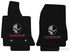 C7 Corvette Stingray/Z06 2014+ Lloyd Ultimat Skull / Corvette Racing Floor Mats