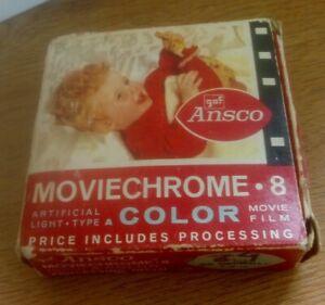 Ansco Moviechrome 8 Color Film Exp '67