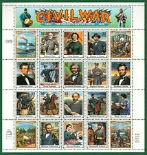 =WOW= #2975 CIVIL WAR, Full Sheet of 20, Mint Never Hinged, CV $32.50, FREE S&H