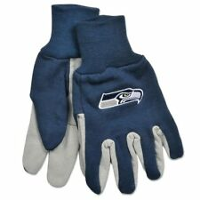 Seattle Seahawks two tone Utility Work Gloves TOTAL CLOSEOUT SHIPS FAST !!!!