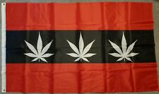 Hash Amsterdam 5ft x 3ft Flag Dutch MJ Weed Stag Weekend Holland Blunt Joint bn