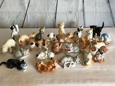 Danbury Mint Cats of Character Near Complete Lot of 23 Cats Kittens Figurines