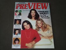 1978 MAY PREVIEW MAGAZINE - CHARLIE'S ANGELS COVER - FARRAH FAWCETT - CW 939