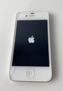USED WORKING iPhone 4 8GB Verizon Mod. A1349 FCC ID: BCG-E2422B smartphone