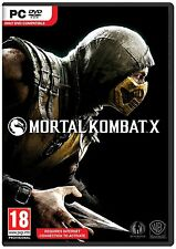 Mortal Kombat X [PC-DVD Computer, Region Free, Fighting Fatality Combat] NEW