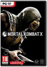 Mortal Kombat X [PC-DVD Computer, Region Free, Fighting Fatality Combat] NEW