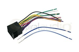 SAAB 9-5 1998-2005 Radio Wire Harness for Aftermarket Stereo Install WH-0043