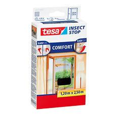 TESA Fliegengitter COMFORT für Türen ANTHRAZIT 1,20x2,50m (2x0,6x2,5m)