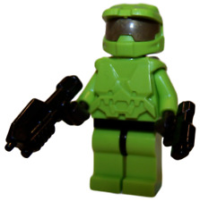 **NEW** LEGO Custom - LIME GREEN HALO SPARTAN - Master Chief Xbox Minifigure
