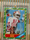 1986 Jerry Rice (ROOKIE) Card # 161