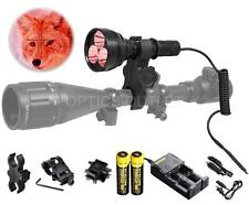 Orion M30C Red 700 Lumen 377 Yards LED Hunting Light - Rechargeable & Mountable