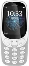 Nokia 3310 2017 Light Grey (Unlocked) Cellular Phone (2G Dual SIM) Mobile Phone