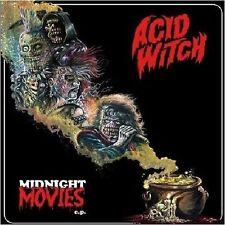 ACID WITCH - Midnight Movies  [RED/GOLD Vinyl] MLP