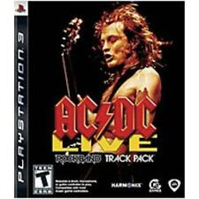 New Sealed Sony PlayStation PS3 2008 AC/DC Live Rock Band Track Pack Video Game